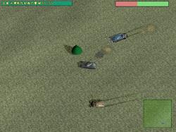 戦車同士が戦うミッションクリア型の3Dアクションゲーム