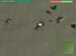 後半のミッションでは複数の戦車に囲まれることも珍しくない