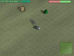 敵弾を受けにくい高地から敵の戦車の狙うのが勝利への基本戦略