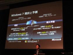 Windows 7の現状と予測