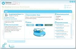各プログラムの情報と改善策を提示