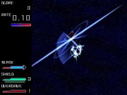 ブレードによる近距離攻撃を主体とした縦スクロールシューティングゲーム