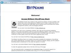 「BitNami WordPress Stack」