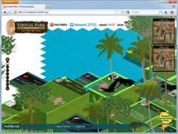 """Virtual Park Tumucumaque""のWebサイト"