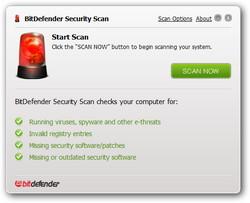 「BitDefender Security Scan」v1.0