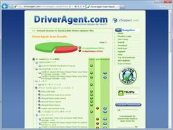 ドライバーのバージョンをチェックするユーティリティ「DriverAgent Driver Scan」が同梱