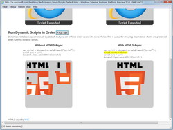 """非同期スクリプトのデモ""""HTML5 Async Scripts"""""""