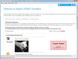 """iframe""要素で読み込まれるコンテンツを分離するサンドボックス技術""HTML5 Sandbox"""