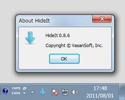 「HideIt」v0.8.6