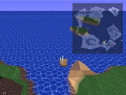 船が手に入ると行動範囲が一気に広がる。世界を隅々まで探検するのも面白い
