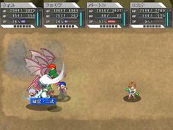 飛んでいる敵にはジャンプ攻撃が有効など、戦い方を考えるのも楽しい