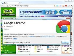 「Google Chrome」v13.0.782.218