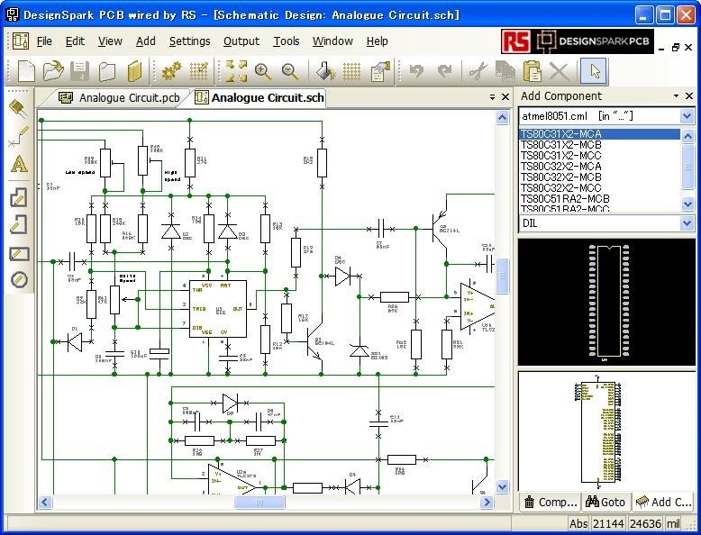 「DesignSpark PCB」v2.0.2