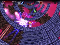 円状のステージが特徴的な探索型アクションゲーム