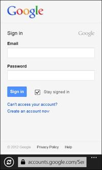 4. Googleのアカウントへログイン