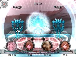 """スキル""""銀氷河""""は威力こそ低めだが、敵全体にスタン効果がある有力な攻撃だ"""