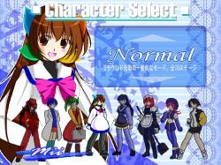 登場キャラクターはすべて女の子。PCに関係したものがモチーフになっている
