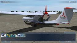 所有する航空機はガレージ画面で確認できる