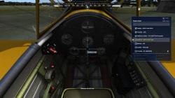離陸時は単純にエンジンスタートすることもできるが、正規のチェックリストに則って操作を進めることもできる