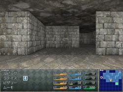 オートマッピング対応の3DダンジョンRPG