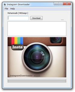 「InstagramDownloader」v1