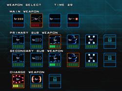 最大13種類の武器が登場し、組み合わせを自分で決められるのが面白い