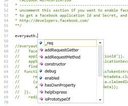 """""""Node.js""""へ対応、コード補完機能も利用できる"""