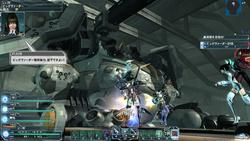 """正式後初のアップデートで追加された惑星リリーパの""""地下坑道""""フィールドでは、巨大な戦艦""""ビッグヴァーダー""""が待ち構える。艦橋部分がロボットに変形し、甲板上で死闘を繰り広げることに"""