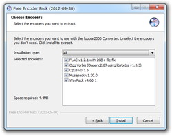 「Free Encoder Pack」2012-09-30