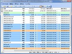 「FolderDiff」v2.5