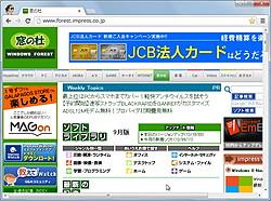 「Google Chrome」v23.0.1271.10 beta-m