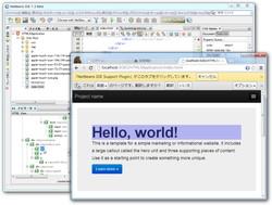 拡張機能を利用して「Google Chrome」を利用したWebページのインスペクトが可能