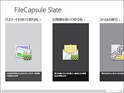 「FileCapsule Slate」
