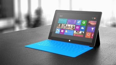 """マイクロソフト社製タブレット端末""""Surface"""""""