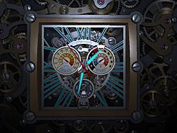 「Skeleton Clock 3D Screensaver」v1.0