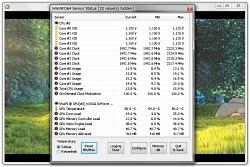 H.264動画を「Windows Media Player 12」および「Google Chrome」上で再生、「HWiNFO32」で監視