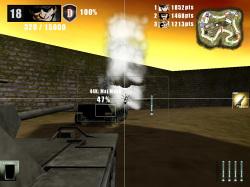 バランス型の中戦車は重戦車に大ダメージを与える地対地ミサイルを撃てる