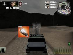 コース上には移動速度のアップなど、戦いを有利にするアイテムも出現