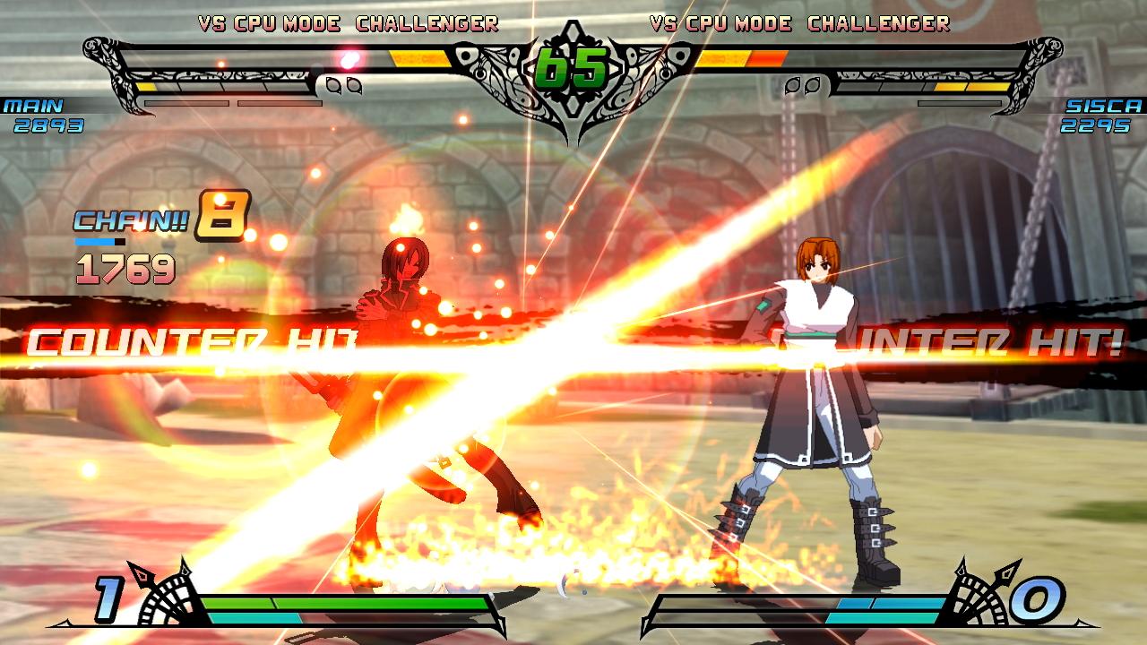 攻撃のエフェクトがとくに美しく描かれている。覚醒必殺技ではキャラクターイラストがカットインする演出もあり、ビジュアルで大いに盛り上げてくれる