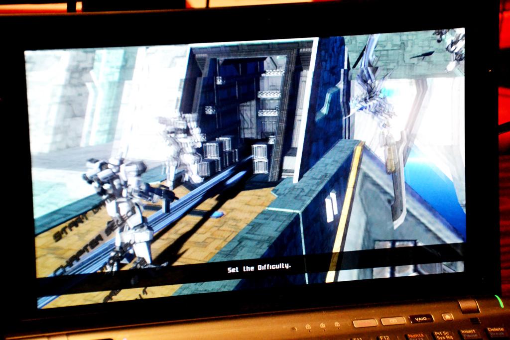 画面下に出るセリフなどが英語に翻訳されている。ゲームの見た目の美しさもあり、海外からの来場者の人気を集めていた