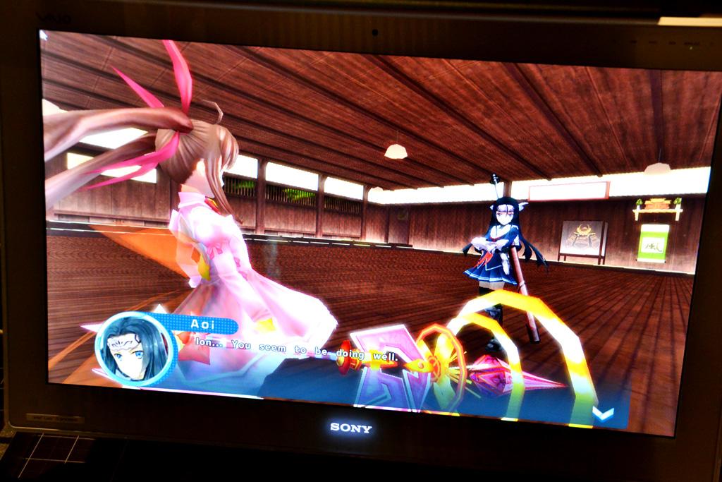 「マジカルバトルフェスタ・魔法少女☆星咲いおん」の英語版を出展。日本語版もバランス調整などのアップデートが行われている