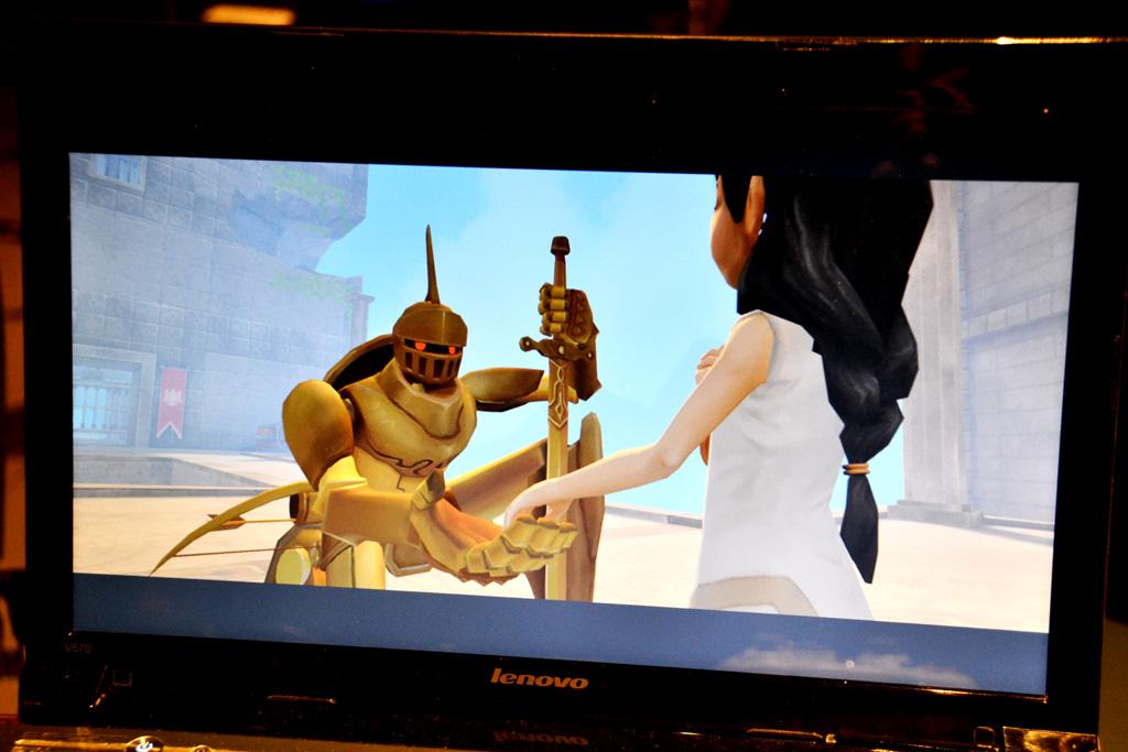少女とロボットのセリフのない触れ合いが、逆に叙情的な世界を作り出している