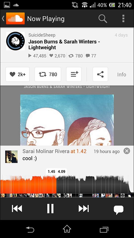 「SoundCloud」