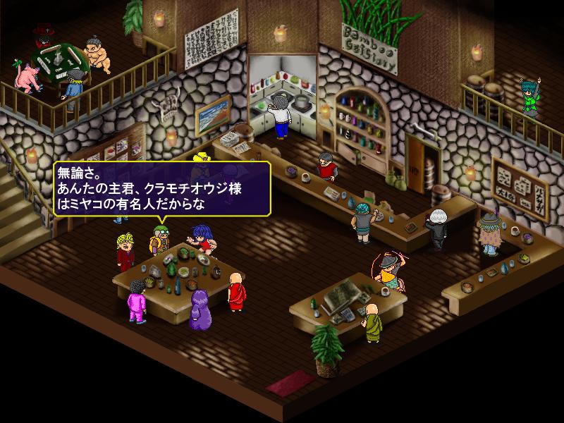プレイヤーキャラクターは意外とよく喋る
