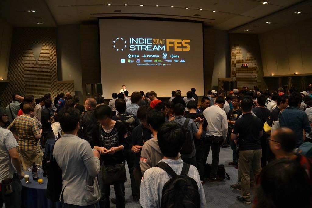 Indie Stream Fes 2014の会場