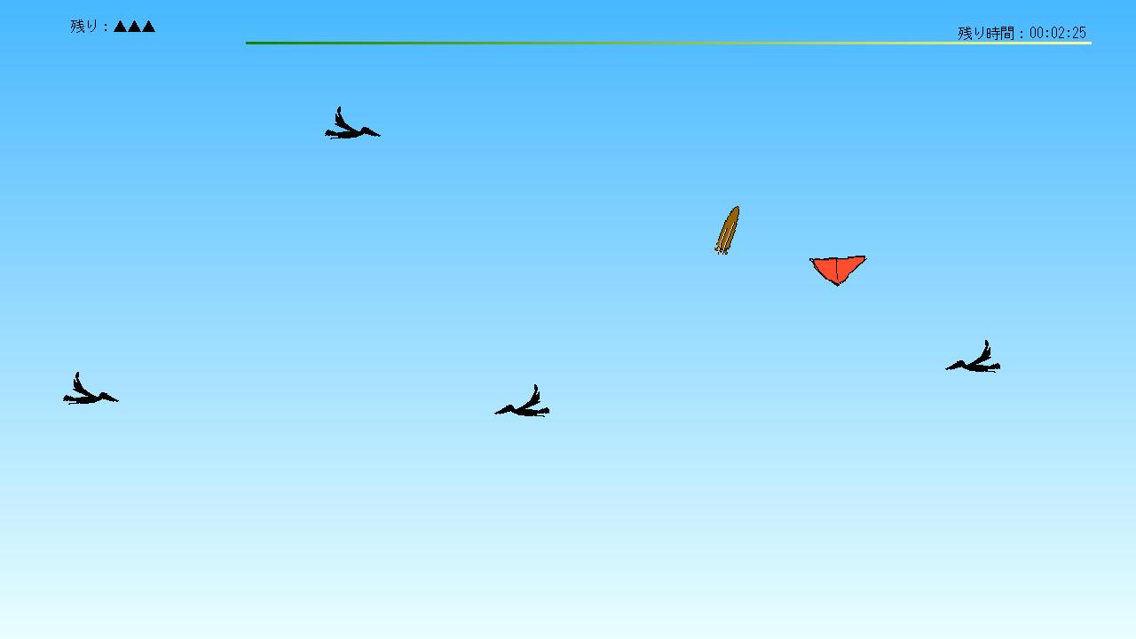 スポーツカイトをイメージした回避アクションゲーム。DUALSHOCK 4を使うと、リアルなプレイ感が得られる……らしい(筆者はスポーツカイト未経験……)