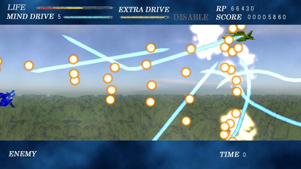通常攻撃はボタンを押し続けるだけで別の攻撃へと続いていく