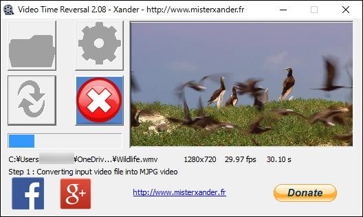 「Video Time Reversal」v2.08
